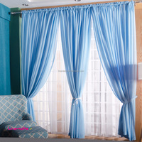 cheap price slot top rod pocket fake linen sheer fabric curtain, plain solid color linen sheer window curtain ready made