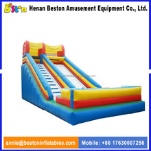 Big inflatable toys slide inflatable happy hop inflatable water slide for sale