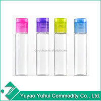 SB-25 Yuyao Yuhui Commodity good quality low price non spill essential oil 15ml pet bottle with flip top cap