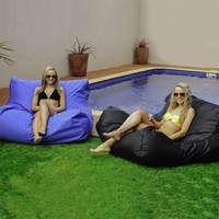 Buy double seat red lip shape bean bag chair from visilifestyle ...