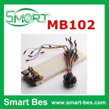 Smart Bes Best quality and price MB102 breadboard + bread board power supply module + 65 pcs jump wire