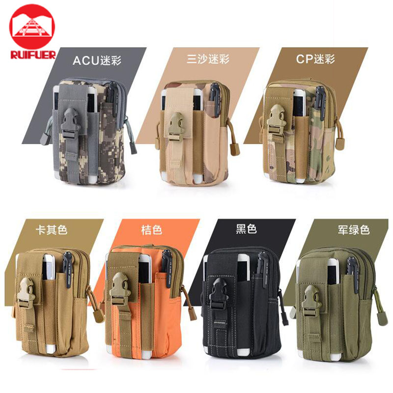 Wholesale New with Cell Phone Holster Holder Tactical Molle Belt Waist Bag for iPhone 7 Plus