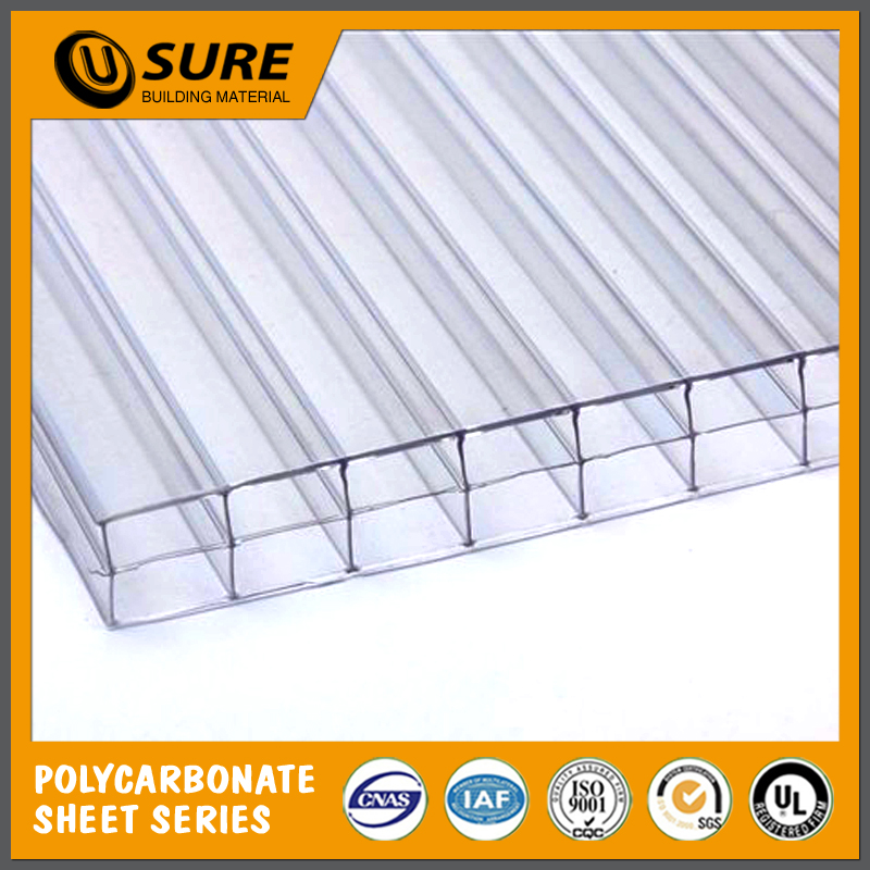 Flat PC Roof Plastic Honeycomb Sheet For Roofing Covering