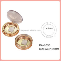 PA-1035 round blush case blush container cosmetic packaging