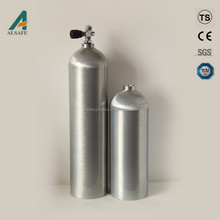 Special Type Cylinder Used For Industrial Gas Aluminum Gas Storage Tank