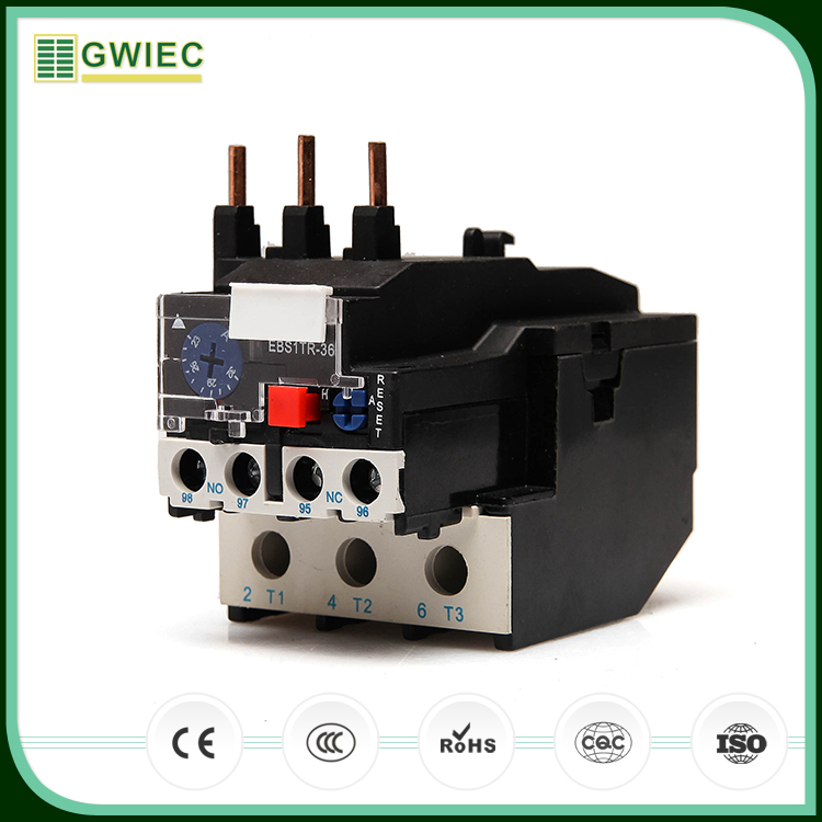 GWIEC China Products Low Prices 0.2A LR2 D13 Thermal Overload Relay For Protect Phase Break
