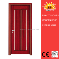 SC-W023 House door kerala door designs solid teak wood door price