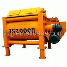 Twin shaft portable concrete mixer Mmachine ammo reloading equipment JS2000