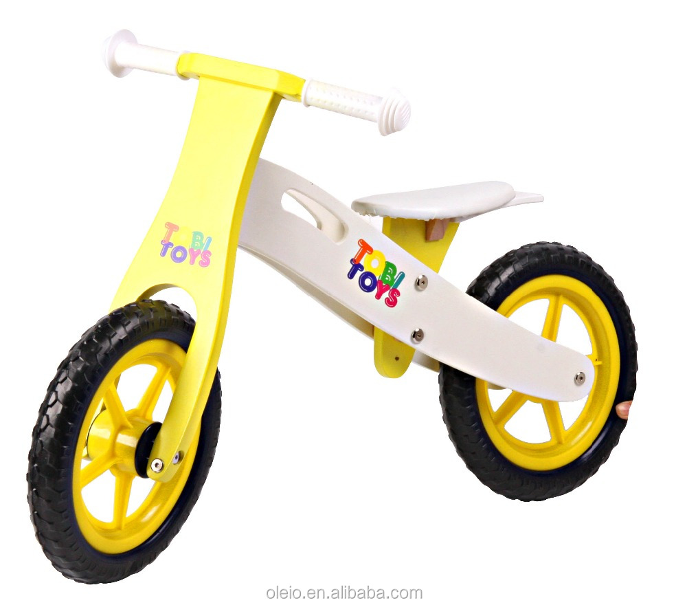 Europe wooden balance bike for kids