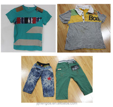 boy children summer clothes used clothng wholesale