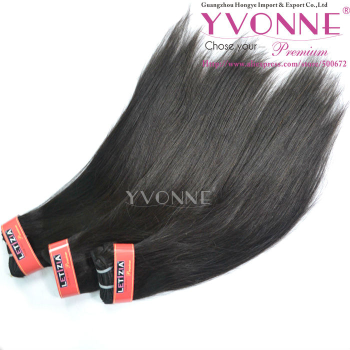 Excellent quality 100% indian human hair extension in factory pricr