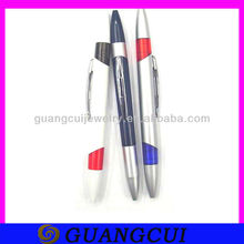 fashion silver plastic linc ball point pens as give away gift