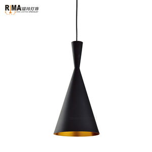 China Hot selling haning unique iron simple restaurant industrial vintage pendant light