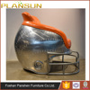 industrial style restaurant furniture aviator aluminum football helmet chair