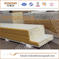 50-150mm thickness waterproof pu sandwich panel for Steel Structure