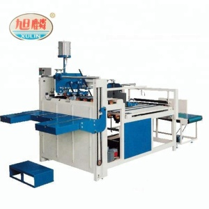 Semi automatic carton folder gluer/Semi-auto Corrugated Carton Box Folder Gluer/Press Pasting Box Machine