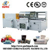 automatic vertical L bar sealer and film shrink packing machine(CE)from Shenzhen manufactuer