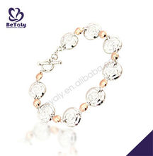 Fashion wholesale 925 sterling silver bracelet jewelry cz stone magnetic bracelet