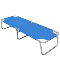 Outdoor portable folding sleeping foldable bed