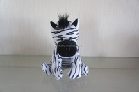 cheap custom plush zebra toy, stuffed animals soft toy