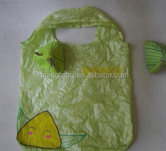 ployster bag/ recycled plastic bottle tote bag/ rubbish bag