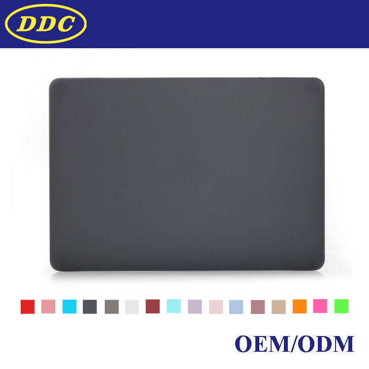 rubberized matte hard pc shell case for apple Macbook pro 13 cover
