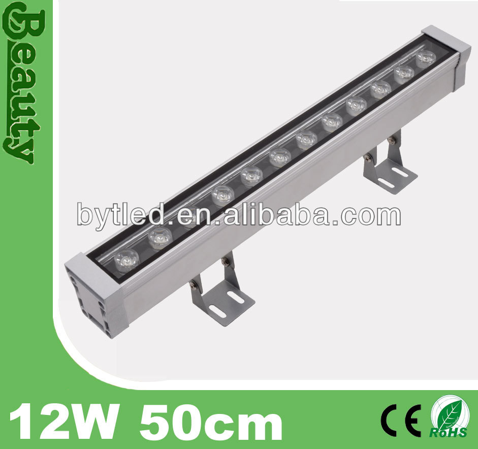 50cm facade IP65 12W LED wash light