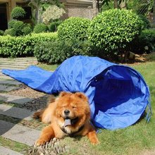 Stable Fabric Collapsible for Small Medium and Large Dog Training Open Tunnel