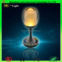 Romantic Rechargeable Remote Control Dimmable+RGBW Color Change Smart Wifi Wine Table Jelly Cup Light