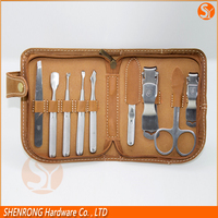 toe nail clipper pedicure set with cheap price for giftware and promotional purpose