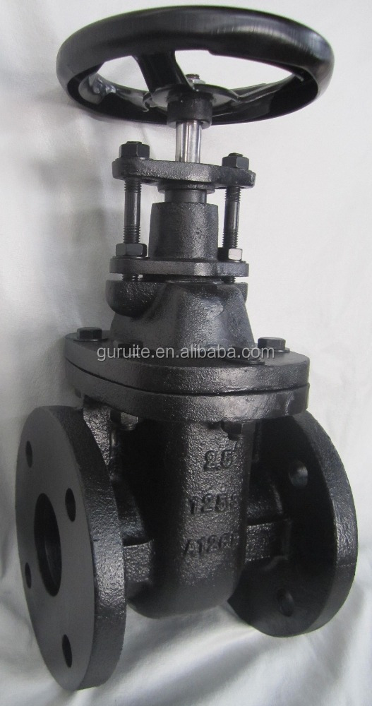 125S Cast Iron Ductile Iron Metal Seat MSS SP-70 Non-Rising Stem NRS Type Gate Valve