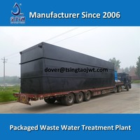 Wastewater treatment plants for textile wastewater and dyeing waste water