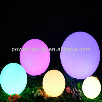 rechargeable garden led ball for pool
