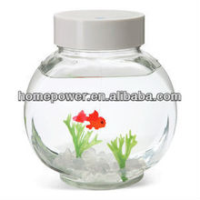 MOQ desktop plastic tank Manufacturers selling 2014 new small fish tank Mini Aquarium