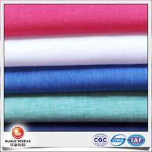 linen cotton yarn dye wholesale chambray shirting fabric