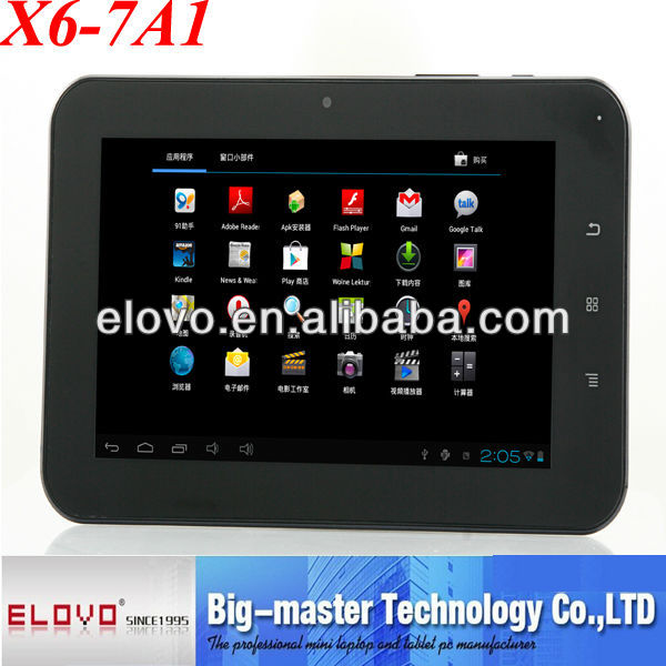 7 inch sex video tablet pc android 4.1 Allwinner CPU