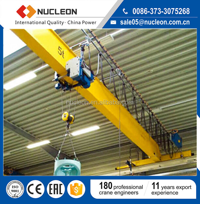 China Nucleon Overhead Crane Factory 5T Overhead Crane Cost