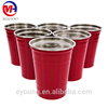 Beer pong cups beer pong balls 12pcs red and 12pcs blue plastic cup and 6pcs beer pong ball