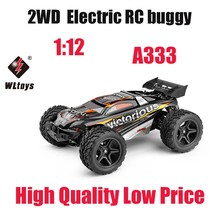 WLTOYS A333 1:12 Scale 4CH 2.4G 2WD RC Car 35km/h High Speed Remote Control Toy