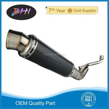 motorcycle Exhaust used exhaust pipe for laser exhaust muffler motorcycle engine parts