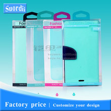 SUD Wholesale Fashion PVC Plastic Retail Packaging Boxes Package for Phone Cover for iPhone 5s 6 7 for Samsung Note 4 5 S4 S5