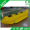 Good quality 0.9mm pvc inflatable flying fish banana boat for sale