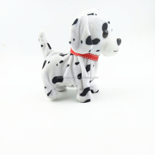 soft cute material plush electronic walking stuffed kids electric dog toy