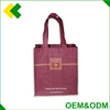 Custom designs sizes wine tote bag wholesale packing laminated material wine bag with 6 sacks