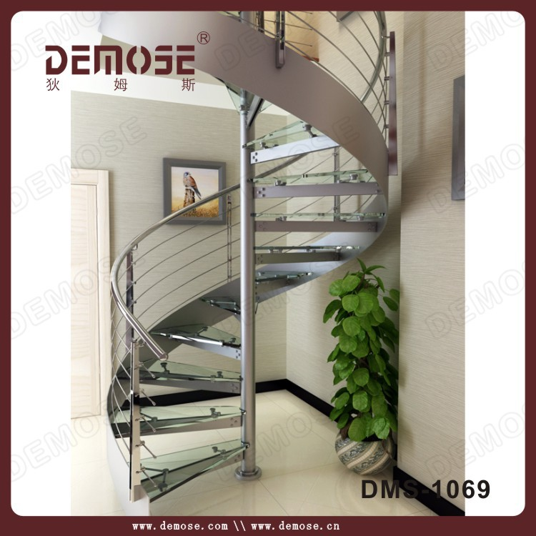 outdoor tempered glass stair tread cover