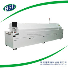 Reflow soldering oven of A8, PLC control soldering machine,reflow oven