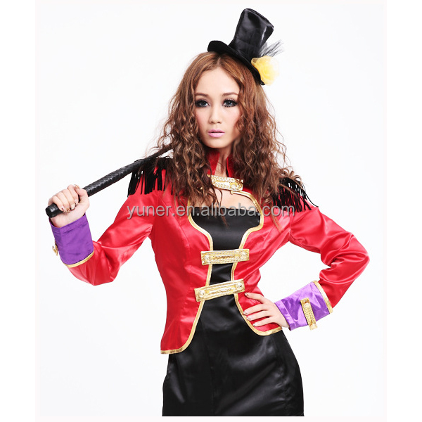 British trainer Baroness Knight Halloween party dress