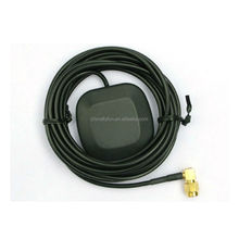 GPS Active Antenna with Two Amplification Car DVD Navigation GPS Antenna SMA Interface