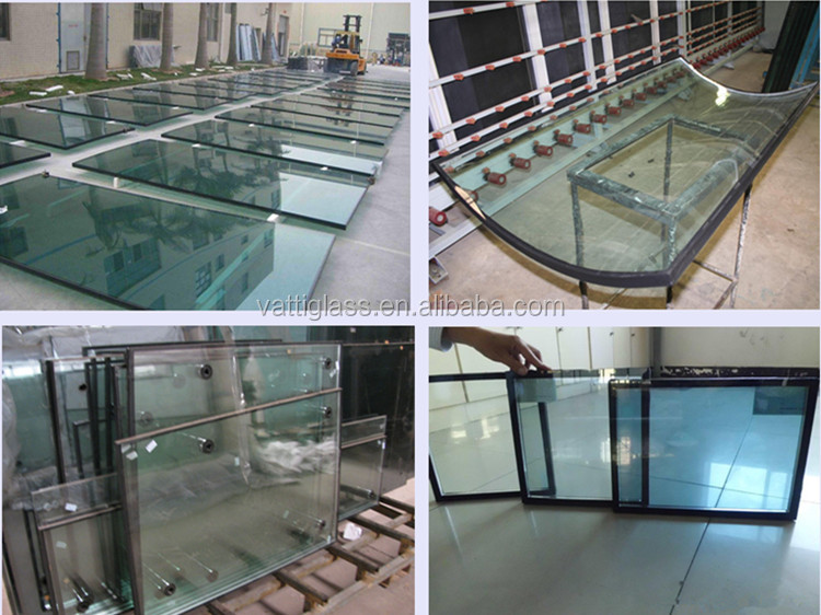 CCC ISO CE Certified Double Panel 4-6A-4 Insulated Glass Price For Window Panes company in china