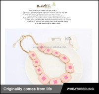 fashion 2015 rubby ornament lady choker necklace